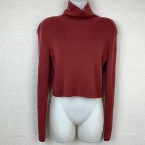 Kendall + Kylie Turtleneck Sweater Large A396